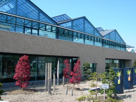 Nieuwbouw kantoorpand bonsai groothandel in Bleiswijk